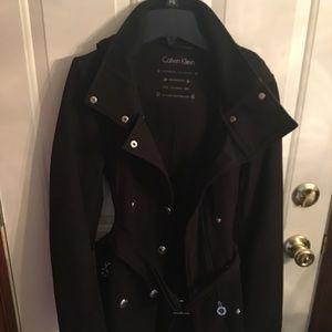 Calvin Klein colder weather rain coat